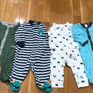 Baby pjs all for 1 price